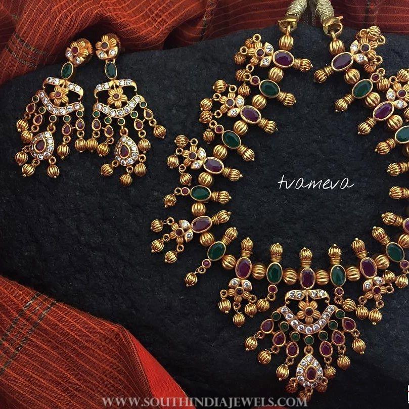 Beautiful Ruby Emerald Set From Tvameva