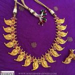 Gold Plated Necklace Set From Tvameva