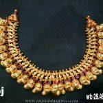 Plain Gold Necklace From Sri Balaji Jewellers