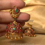 Ruby Jhumka From Moksha
