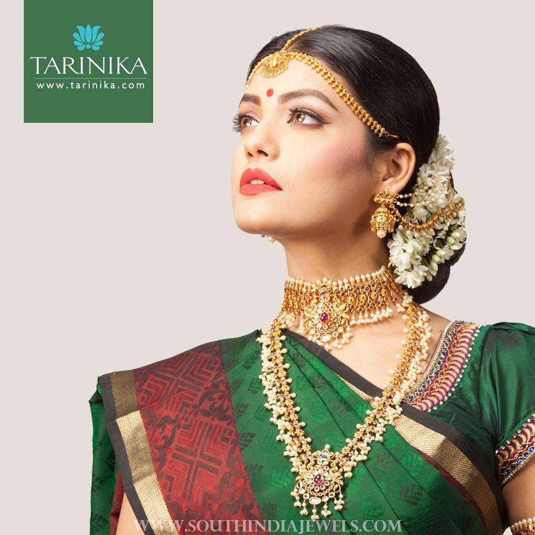 Gold Plated Bridal Jewellery Sets From Tarinika