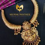 Gold Plated Goddess Lakshmi Attigai