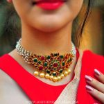Pearl Choker Necklace By Aarni