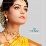 Gold Plated CZ Stone Set From Tarinika
