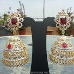 Diamond Jhumka From Manjula Jewel