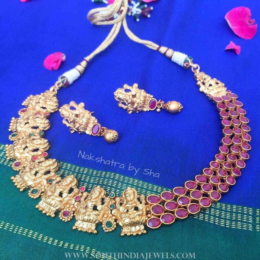 Temple Choker Set From Nakshatra