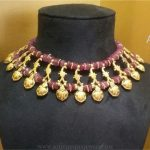 Pure Silver Gold Plated Choker From Arnav