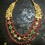 Ruby Step Necklace From Arnav