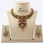 Antique Ruby Emerald Necklace From Prakruthi