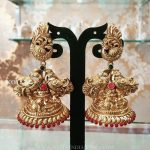 Gold Plated Silver Jhumka From Bcos Its Silver
