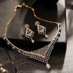 Stylish Diamond Necklace From Manubhai Jewellers