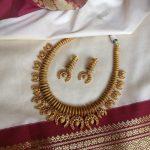 Trendy Antique Necklace Set From Rimli Boutique