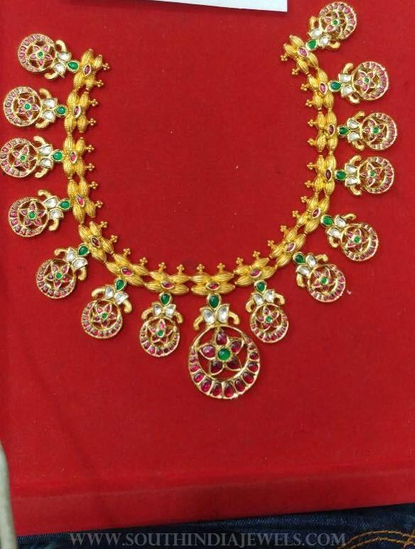 140 grams gold necklace premraj