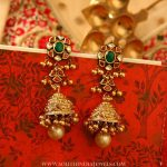 22 K Gold Jhumka From Manubhai Jewels