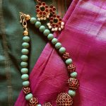 Beaded Short Kemp Mala From Jaya's Handiwork