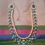 Gold Plated Kundan Emerald Necklace From Bcos Its Silver