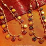 Gold Plated Short Coin Necklace From Happypique