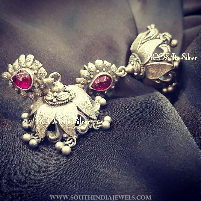 New model pure silver jhumka bcos_its_silver