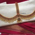 Gold Plated Bridal Kemp Tikaa From Tvameva