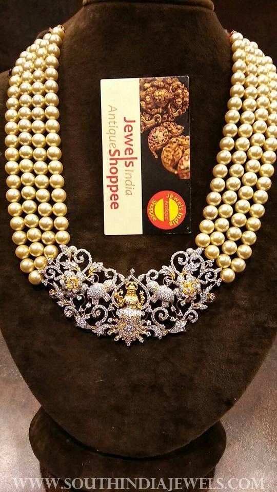pearl diamond haram jewels indian antique shopee