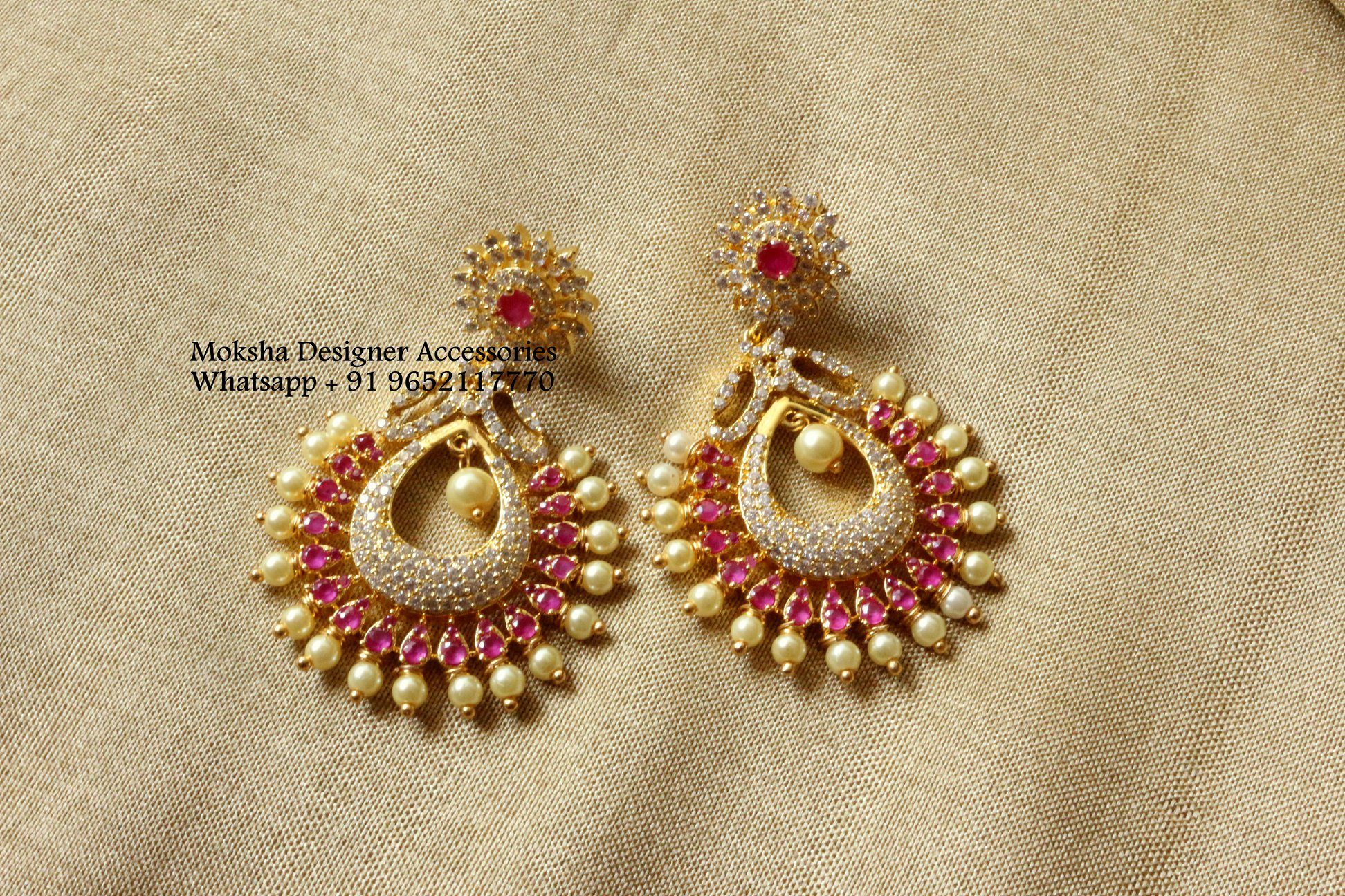 Designer earrings Moksha Designer Accessories