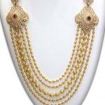 Diamond Finish Long Haram From NAJ Jewellery