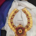 Gold Plated Coin Necklace With Kemp Pendant From Tvameva