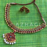 Imitation Mango Attigai From Azhagi Beads