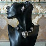 Pretty Choker With Ganesa Pendant From Bcos Its Silver