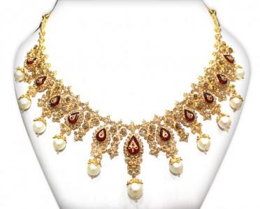 Uncut gold necklace NAJ-Jewellery