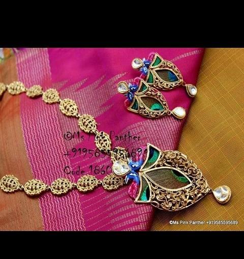 Unique Necklace Set Ms Pink Panthers