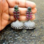Pretty Silver Jhumka From Precious and You