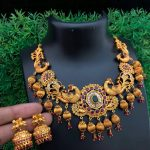 Amazing Peacock Necklace From Embelish Chennai