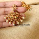 Beautiful Designer Peacock Earring From Moksha Designer Accessories