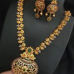 Beautiful Temple Jewellery Set From Dhruvam