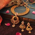 Bold Gold Necklace From Manubhai Jewels
