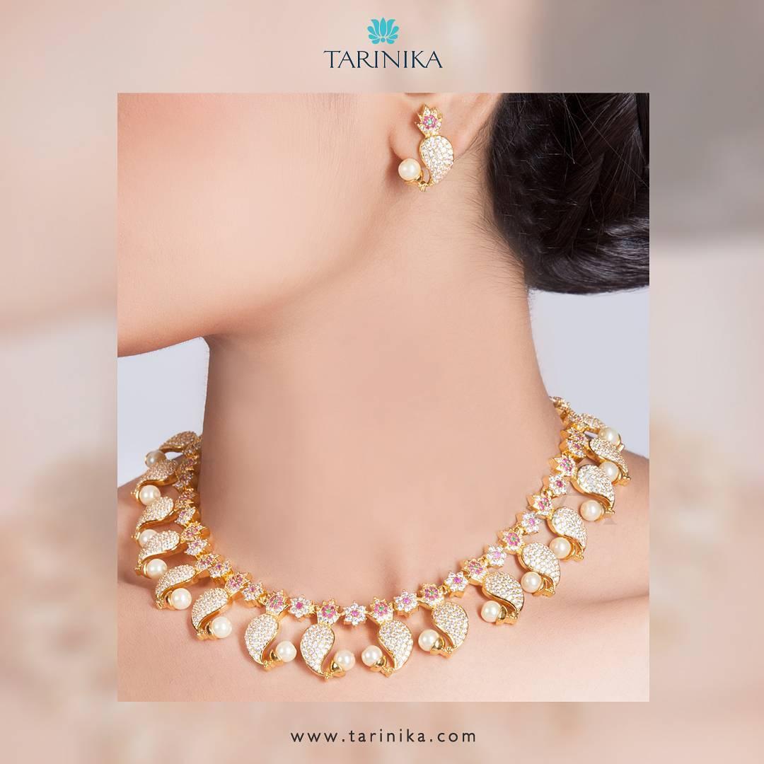 Designer Necklace Set From Tarinika