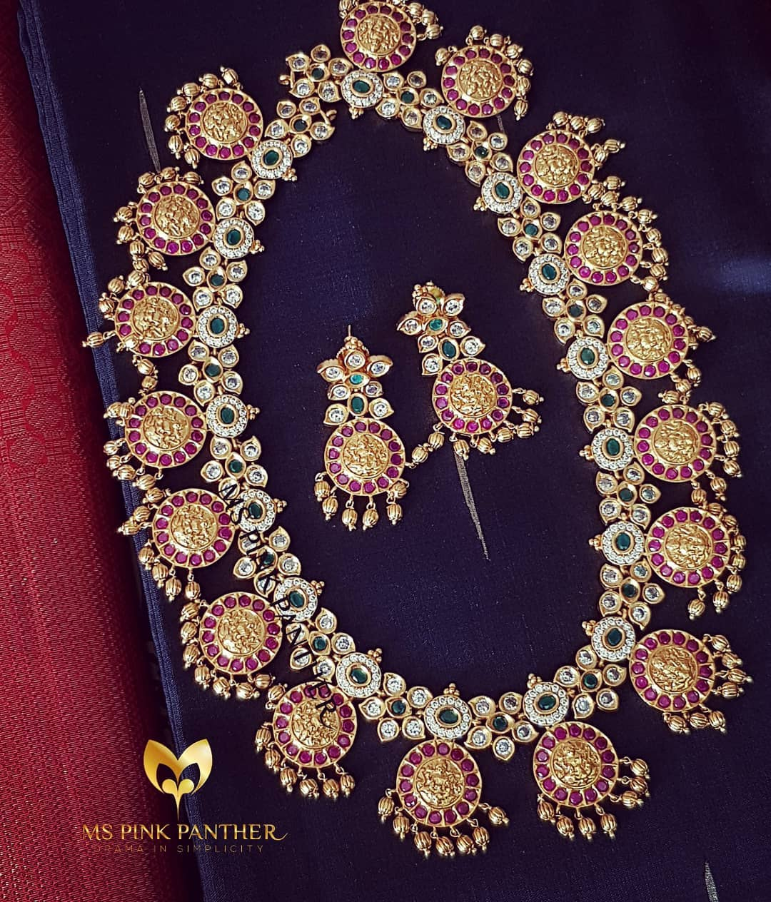 Elegant Neklace Set From Ms Pink Panthers