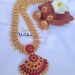 Long Necklace Set From Vibha Creations