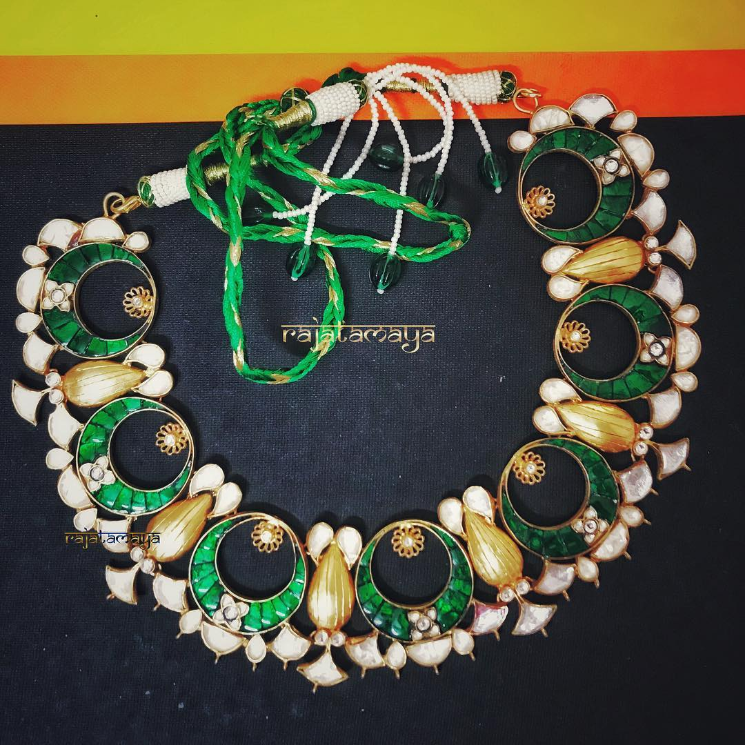 Stunning Kundan Jewellery From Rajatmaya