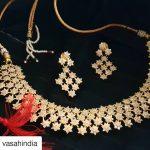 Stunning Stone Necklace Set From Vasahindia