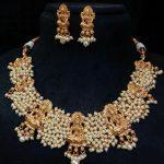 Temple Necklace Set From Alamakara