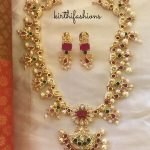 Adorable Matt Necklace Set From Krithi Fashions