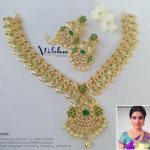 Attractive Necklace Set From Vibha Creations