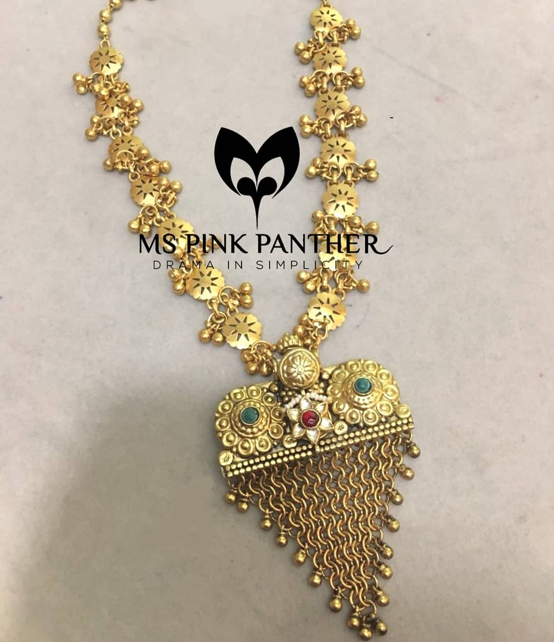 Beautiful Long Necklace From Ms Pink Panthers