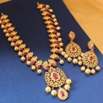 Eye Catching Long Necklace Set From Magha Store