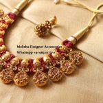 Floral Thread Necklace From Moksha