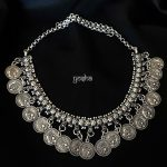 German Silver Coin Necklace From Yosha Creationz