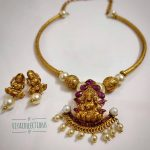 Gorgeous Lakshmi necklace Set From Viyacollections