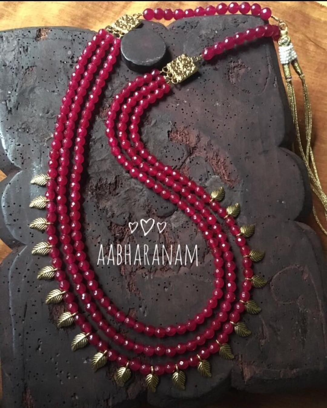 Multilayer Necklace From Aabharanam